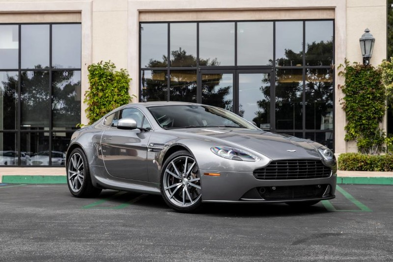 Certified Pre-Owned 2016 Aston Martin V8 Vantage 6-Speed Manual