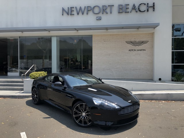 Certified PreOwned Aston Martin DB Coupe In Newport Beach - Aston martin certified pre owned