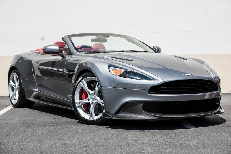 new 2018 aston martin vanquish s volante convertible in newport beach a18005 aston martin. Black Bedroom Furniture Sets. Home Design Ideas